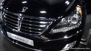 2011 hyundai equus at 2011 washington d c auto show