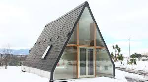 frame house this folding a frame cabin is a shoo in for fantasy holiday wish