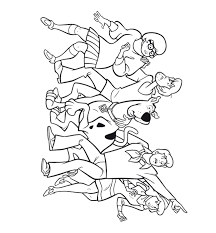 scooby doo coloring pages online scooby doo coloring pages