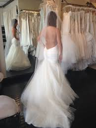Wedding Dresses With Bows Look At My Open Back Wedding Dress Should I Add A Bow Or Leave