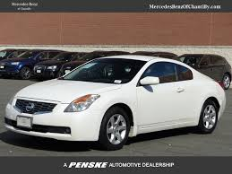 Nissan Altima 2008 - 2008 used nissan altima 2dr coupe i4 cvt 2 5 s at mercedes benz of