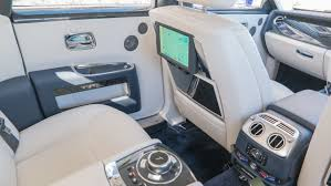 rolls royce ghost rear interior rolls royce ghost series ii australian review gizmodo australia
