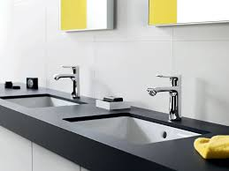 hansgrohe metris single hole faucet double vanity comfortzone