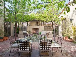 Glass Patio Fencing Awesome Patio With Outdoor Dining Ideas Again Metal Chairs Also