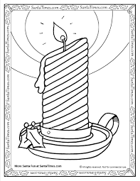 christmas candle coloring pages candle coloring theotix