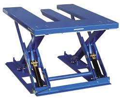 Pallet Lift Table by Scissor Lift Table Hydraulic With E Shaped Platform Mxe
