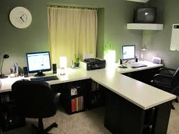 Ikea Desks Office Office Stylish Office Desks Ikea 3351 Fice Desk Two Person L In