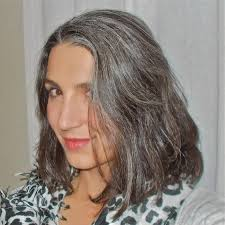 salt and pepper hair styles for women a tousled do meets gray hair casual chic or crazy cat lady