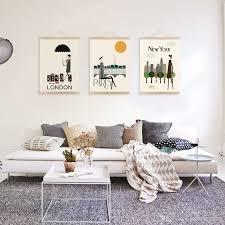 deco scandinave chambre deco scandinave chambre beau déco mur salon 50 idées rétro vintage