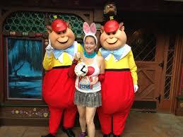Tweedle Dee Tweedle Dum Halloween Costumes 2013 Rundisney Disneyland 10k Recap Crazy Mama