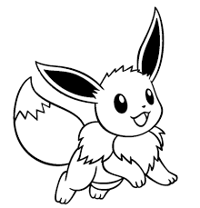 eevee coloring pages eevee pokemon coloring free printable