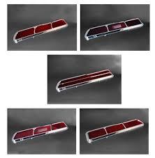 1969 camaro tail lights 1969 camaro tail light lens assemblies set billet aluminum custom