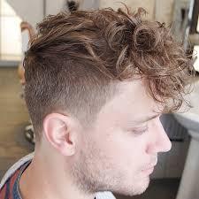 haircut for men with curly hair 27 mens faux hawk haircut ideas designs hairstyles design