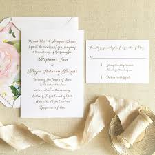 Calligraphy Wedding Invitations Thermography Wedding Invitations Designs Online