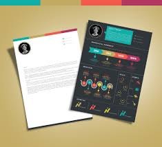 Best Resume Templates With Photo by Free Creative Infographic Resume Template With Cover Letter Indd