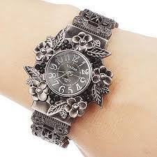 bangle bracelet watches images Vintage flowers bracelet watch women watches bangle ladies watch jpg