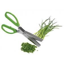 ciseau de cuisine ciseau de cuisine à herbes fraîches multi lames en inox la carpe