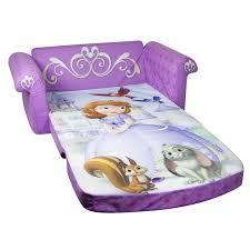 tinkerbell flip open sofa wonderful amazon com marshmallow childrens furniture in flip open