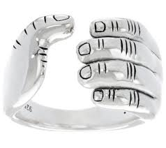 band ring jai sterling silver i band ring page 1 qvc