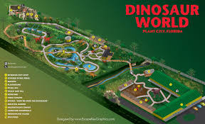 Legoland Map Florida by Theme Park Brochures Dinosaur World Florida Theme Park Brochures