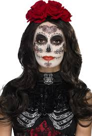 Halloween Glamour Makeup Day Of The Dead Glamour Makeup Kit Halloween Accessories Mega