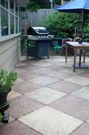 diy concrete patio cover ups concrete patios diy concrete patio
