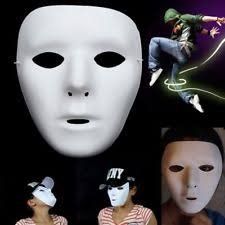 plain mask white mask ebay