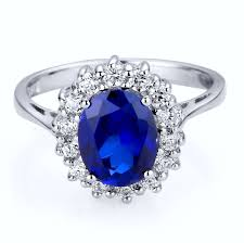 oval sapphire engagement rings sterling silver 2 5 carats oval sapphire engagement ring arco