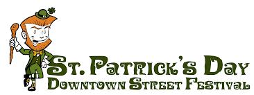 st patrick u0027s day downtown street festival wichita falls