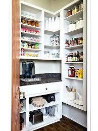 Kitchen Pantry Idea Small Kitchen Pantry Ideas Well Organized Kitchen With Pantry