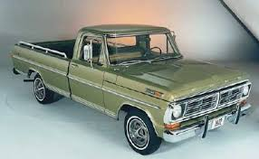 Ford Truck Upholstery The History Of The Ford F Series In The 20th Century