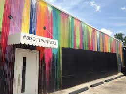 we were obviously devastated popular montrose mural defaced by the original mural outside biscuit home was painted by houston artist sebastien boileau known as