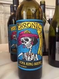 chronic cellars sofa king bueno chronic cellars sofa king bueno 2013 matching food wine