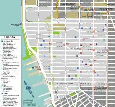 Hilton New York Map by