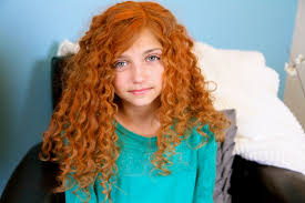 hairstyles for 2 year old curly get merida s fiery and curly red hair disney princess hairstyles