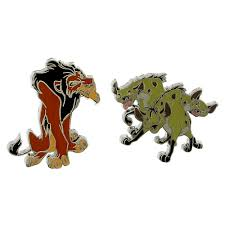 wdw store disney lion king pin scar hyenas