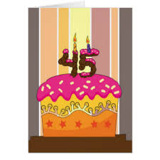 45th birthday gifts t shirts art posters u0026 other gift ideas