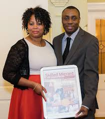 nigerian migrant couple pioneered first professional migrant