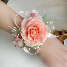 cheap corsages hot bridal wrist flower corsage bridesmaid