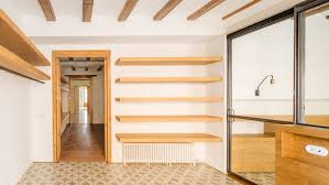 barcelona architecture and design dezeen nook architects uncovers original tiles and timber beams inside barcelona flat