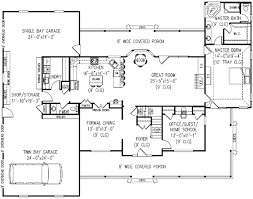 5 bedroom country house plans country house plan 5 bedrooms 2 bath 3005 sq ft plan 13 159