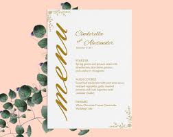 wedding bar menu template gold template wedding bar menu signs signature cocktail printable