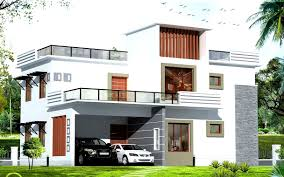 modern minimalist house design with white exterior design inside