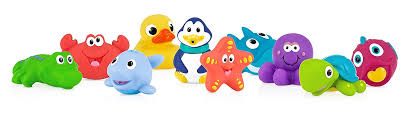 cleaning bath tub toys giveaway grinning cheek to cheek