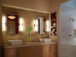 light interior interior cylinder vanity lights rectangle mirrors middle cream