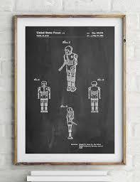 star wars medical droid patent poster starwars decor movie wall