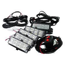 led strobe light kit race sport grille led strobe light kit