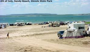 Wyoming beaches images Camping glendo wyoming glendo wy sandy beach back in the day jpg