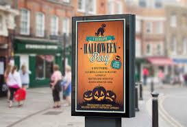 halloween в пабе abeerdeen nice promo outdoor advertising