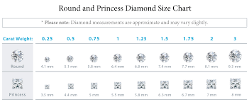 diamond stud sizes new diamond stud size chart jewellry s website